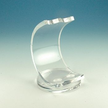 Radius acrylic pen stands for 1 or 2 pens